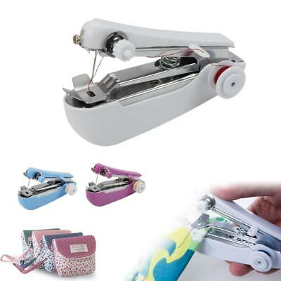 Mini Portable Cordless Hand-held Clothes Sewing Machine Home & Travel Stitch BE