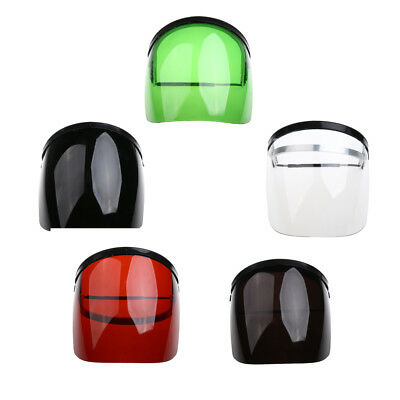 Grey Green Black Red White Safety Clear Face Shield Welding Cooking Garden