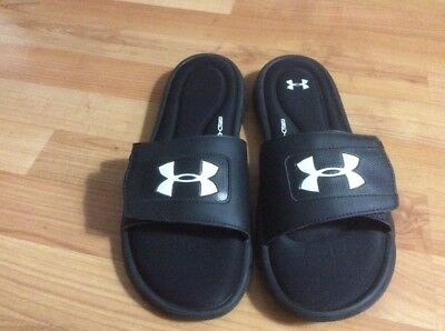 Many Colors and Sizes Under Armour Men/'s UA Ignite V Slides Sandals