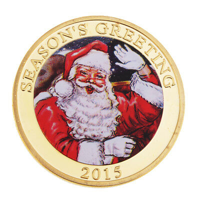 Christmas Santa Claus Coin Toy Non-currency Coins Toy Unique Decorative Gift