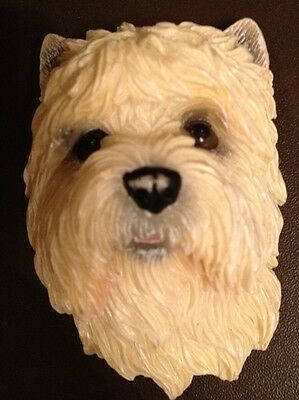 Cairn Terrier Adorable Realistic 3D Sturdy Rubber Magnet~New!