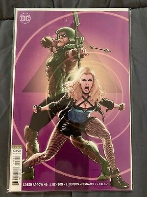 GREEN ARROW 41 & 42 Grell variant DC Comics 2018