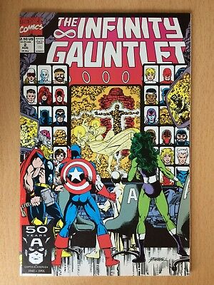 The Infinity Gauntlet #2, 1991, battle with Thanos - Very good condition