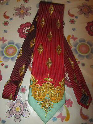 Cravatta Tie Vintage Versus by Gianni Versace Made In Italy SPESE GRATIS