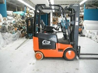 2009 Linde E20C , Heavy duty forklift seldom used, battery recently replaced