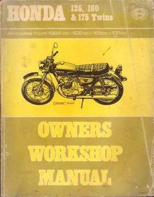 Honda cb 125 200 twin 1964 on haynes manual 900 picclick uk honda cb175cd175cb125cb160 twins haynes workshop manual 1964 1974 fandeluxe Image collections