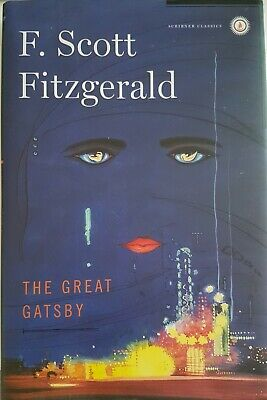 The Great Gatsby by F. Scott Fitzgerald, BRAND NEW, protective plastic cover!!!!