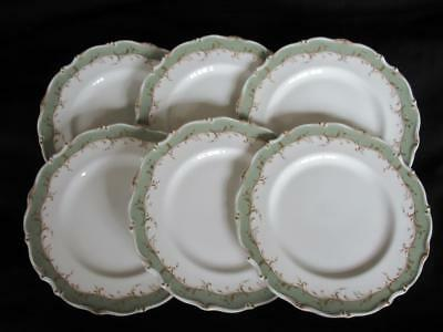 Royal Doulton Fontainebleau H4978 Pattern 6 x Salad Plates 8 inches