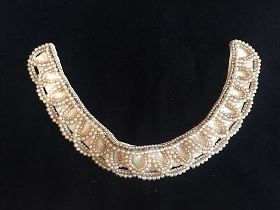 UNBRANDED Vintage Beaded Collar