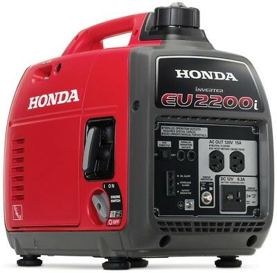 Honda 2,200-W Super Quiet Gasoline Powered Portable Inverter Generator Oil Alert