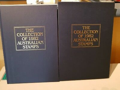 Collection of Australian Stamps Year Books No Stamps price Each