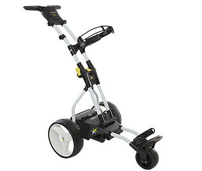 MGI Ryder Tri Compact Electric Golf Buggy (BLACK) with Lithium Battery