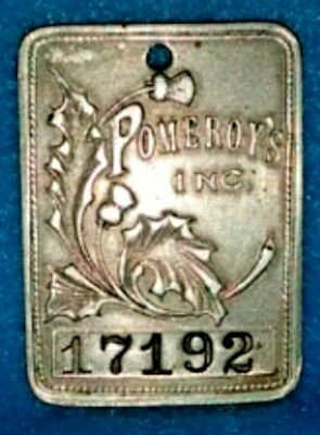 Pomeroy's Inc / Reading Pa Charge Token