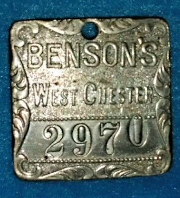 Benson's / West Chester, Pa - Charge Token