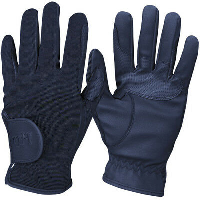 Mark Todd Super Riding Unisex Gloves Competition Glove - Navy All Sizes