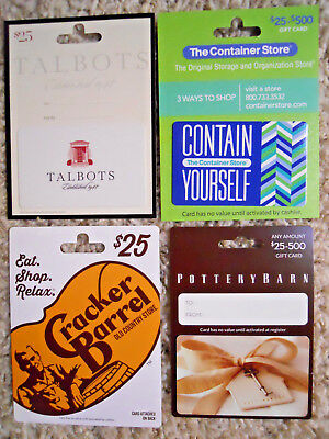 Collectible Gift Cards, with backing, unused, new, no value on cards