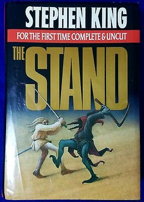 Stephen King The Stand Complete & Uncut. In Dust Jacket  #B