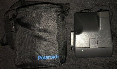 POLAROID One Step 600 Instant Film Camera with Strap And  Polaroid Case
