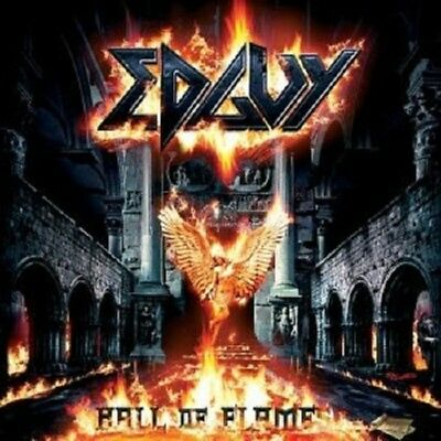 Edguy 'hall Of Flames' Doppel Cd New+ ! Best Of !