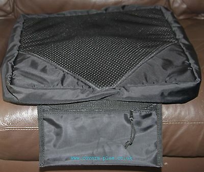 Wheelchair Cushion Cover Breathable 3D Spacer Mesh + Transfer Pads + Bag