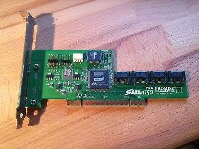 Promise FastTrack S150 TX4 Serial ATA Controller PCI 4x SATA + Kabel