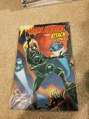 Mars Attacks Vol #1 Tpb Attack From Space Still Wrapped Free Shipping