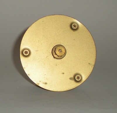 Mauthe W38 Centre Fixing 8 Day Clock Movement - For Spares Or Repair