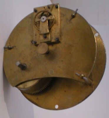 8-Day Cylinder Clock Movement