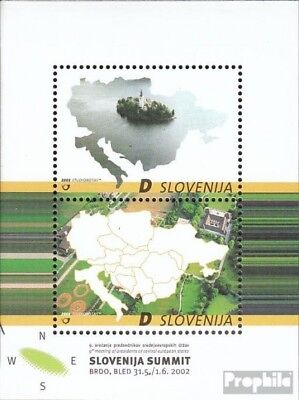 slovenia block15 mint never hinged mnh 2002 take the state president Mid