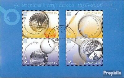 slovenia block23 fine used / cancelled 2005 50 years Europe Trade