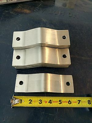 Stainless steel bracket, very heavy and thick