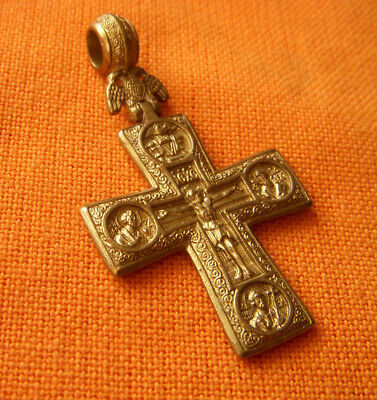 A32.Post Medieval style Russian Orthodox double faced cross.