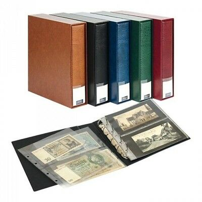 Lindner 3532BN - H PUBLICA M Album for Collections, for up to 80 Banknotes/Postc