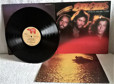Barry Gibb Amp Bee Gees Quot Autogramm Signed Lp Cover Soundtrack