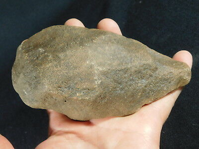 A BIG! ONE Million Year Old Early Stone Age ACHEULEAN HandAxe Mauritania 522gr