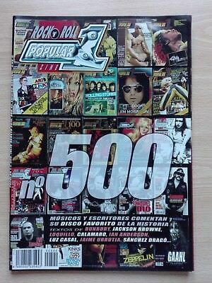 POPULAR 1 –''No. 500''- WITH THE BEATLES, ROLLING STONES, THE CULT, BOB DYLAN...