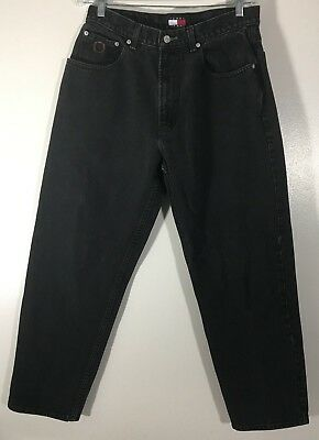 Men's Tommy Jeans Black Tag Size W33 L33 Actual Size 29x27.5