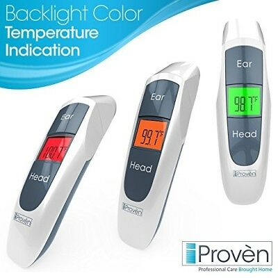 Dual Mode Digital Ear and Head Thermometer - iProven DMT 316 -BRAND NEW!