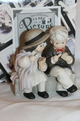 """Enesco Kim Anderson Pretty As A Picture """"Love Is The Sweetest Treat Of All"""" 1999"""