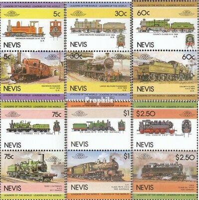 Nevis 280-291 Couples mint never hinged mnh 1985 LocoThematics