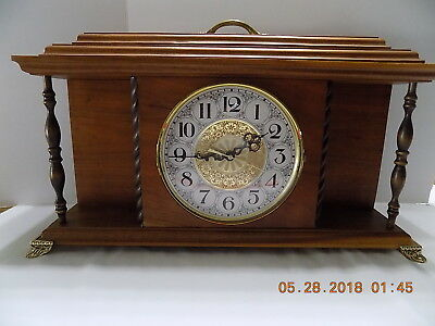 Handmade Mantle Clock Westminster Chimes  Not Running