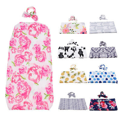 Baby Girls Boys Summer Blanket Newborn Wrap Sleeping Bag Swaddle Wrapped