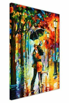 Canvas It Up NEW ABSTRACT DANCE UNDER THE RAIN BY LEONID AFREMOV ON CANVAS WALL