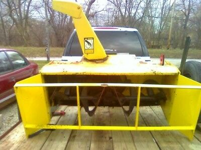 """47"""" 2-Stage John Deere Snow Blower Attachment 400 420 430 with side extentions"""