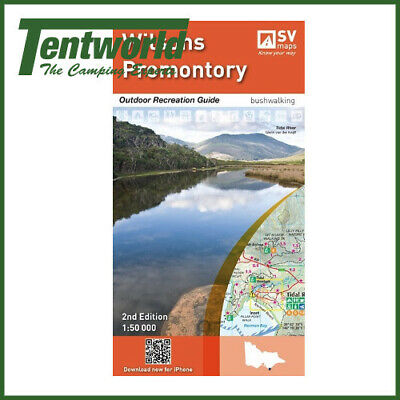 Spatial Vision Wilsons Promontory Map Outdoor Receation Guide Edition 2