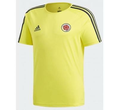 adidas 2018 World Cup Colombia Men s Fans Shirts Tee T-Shirt BR3499 1805 a66d7c9a7
