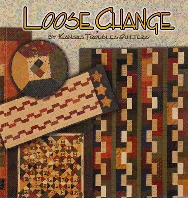 Loose Change - pattern project book for Precuts - Kansas Troubles Quilters