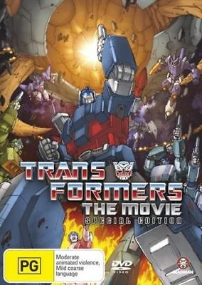 Transformers - The Animated Movie Special Edition DVD [New/Sealed] Region 4