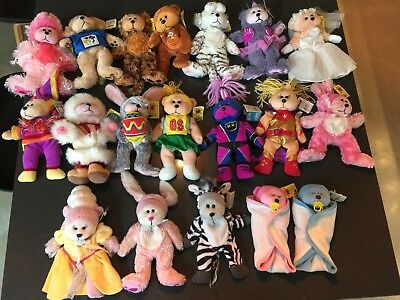 bulk lot beanie kids, most in excellent condition, 19 total