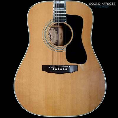 5bbd57a4a93a72 Guild 1976 D-55 Dreadnought Acoustic Guitar w  Pickup